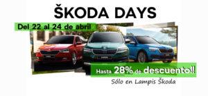 skoda days abril en lampis
